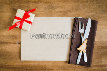 winter holiday christmas culinary background