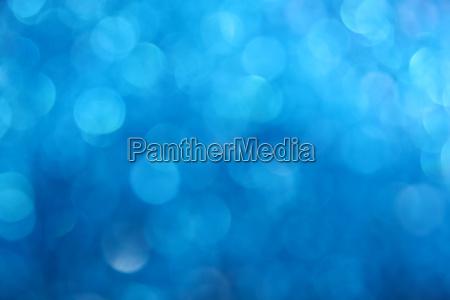 winter blue glitter light abstract blur