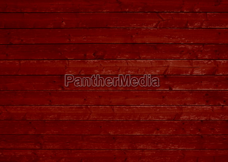 rustic wooden wall red