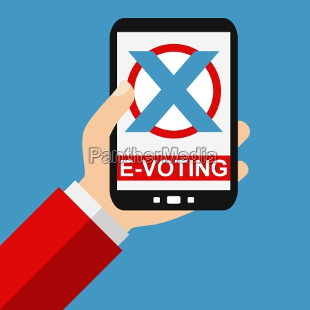 e voting with the smartphone