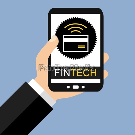 fintech on the smartphone