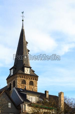 protestant marktkirche in essen kettwig in