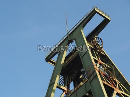 hard coal mining tower lohberg colliery