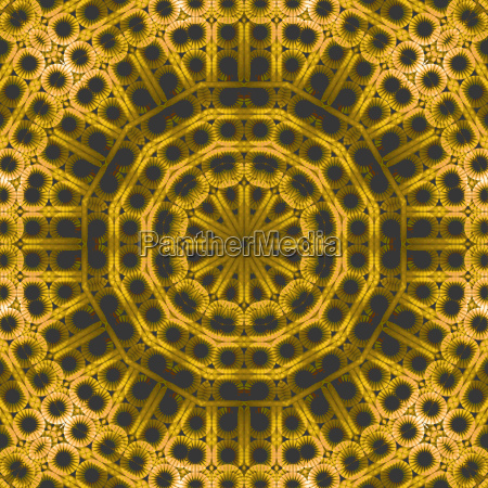 abstract geometric seamless background hole pattern