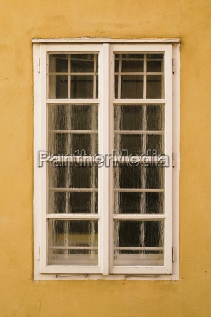 window in the old town of