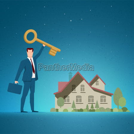 real estate concept vector illustration