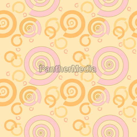 abstract geometric seamless background regular spiral