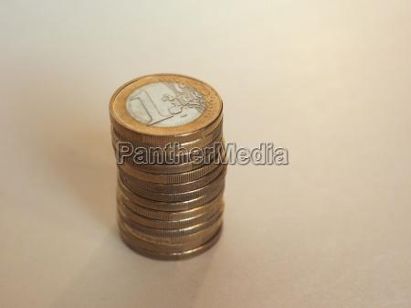 euro eur coins european union eu