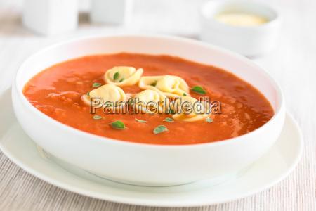 tomato, soup, with, tortellini - 19825499