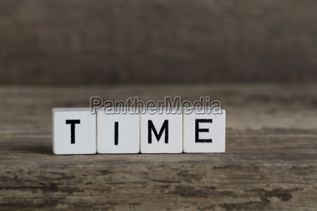 time written in cubes
