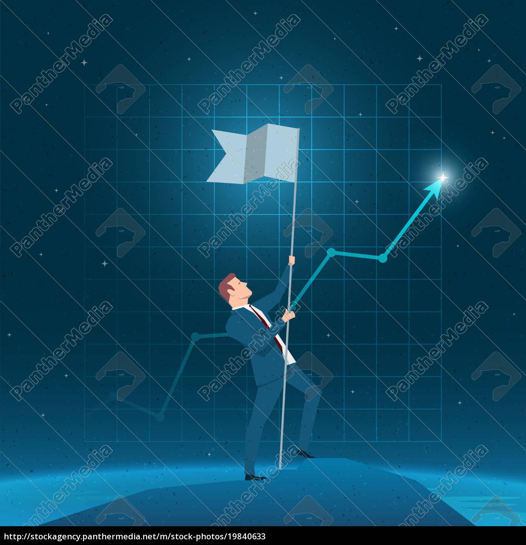 business, concept, vector, illustration - 19840633