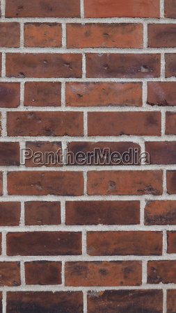 red brick wall background vertical