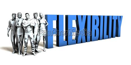 flexibility business concept