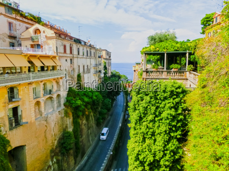 view of the street in sorrento