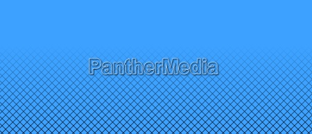 blue background with grid pattern and
