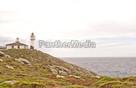 cabo tourinyan with lighthouse municipality of