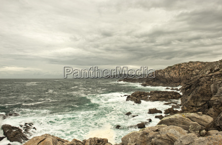 coastal landscape near cabo tourian municipality