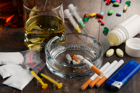 addictive substances including alcohol cigarettes and