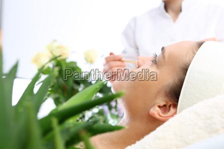 aloe mask moisturizing facial skin