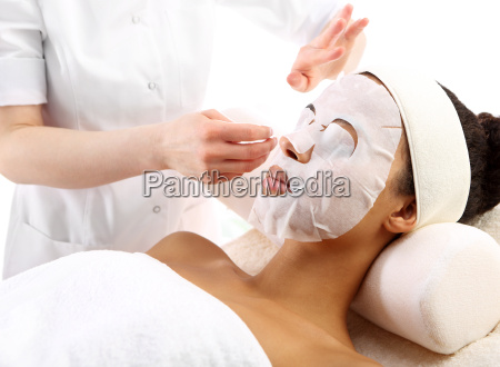 face mask anti wrinkle beauty treatment