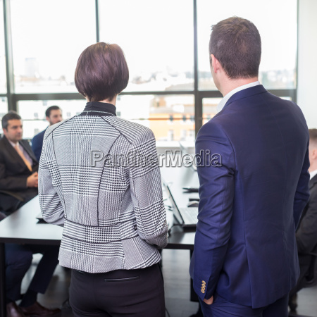 corporate business team office meeting