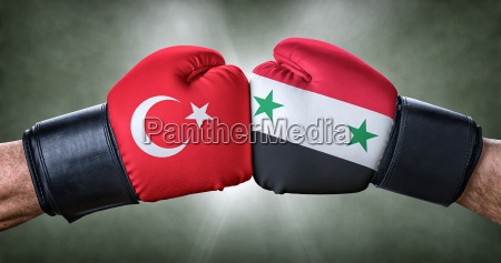 boxing match turkey against syria
