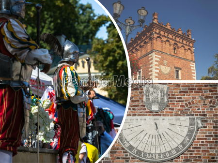 collage of sandomierz is among the