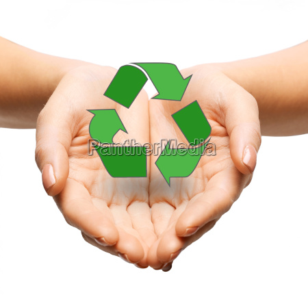 close up of hands holding green