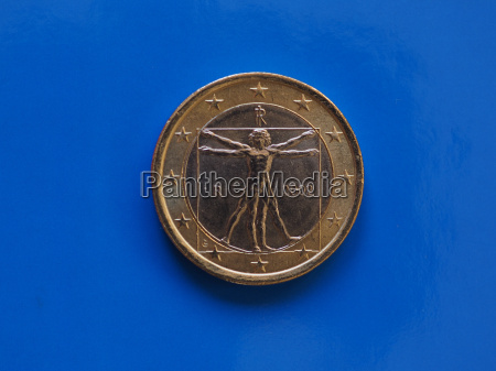 1 euro coin european union italy