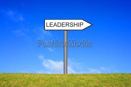 signpost signpost shows leadership