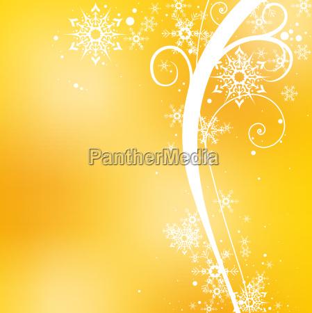 yellow christmas floral