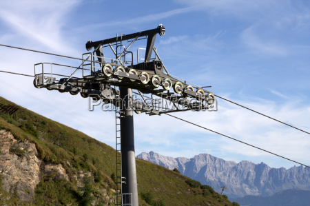 cable car from rauris to the
