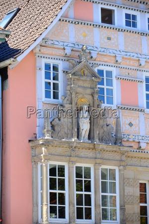 house facades in hameln nidersachsen