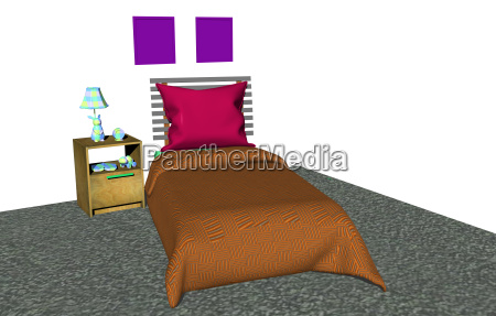 youth room with bed optional