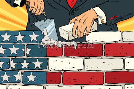 politician, to, build, a, wall, on - 20102170