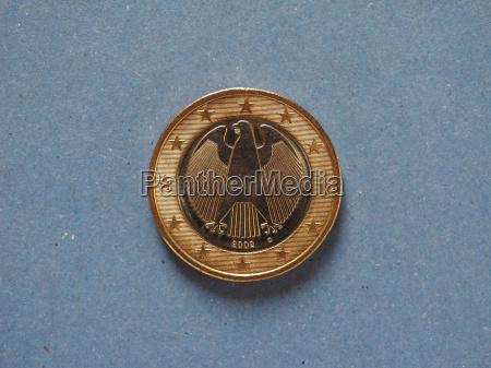1 euro coin european union germany
