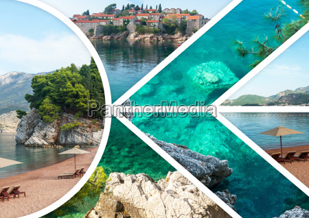 the, collage, of, sveti, stefan, island - 20115963