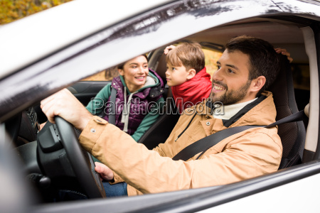 happy, family, travelling, by, car - 20116307