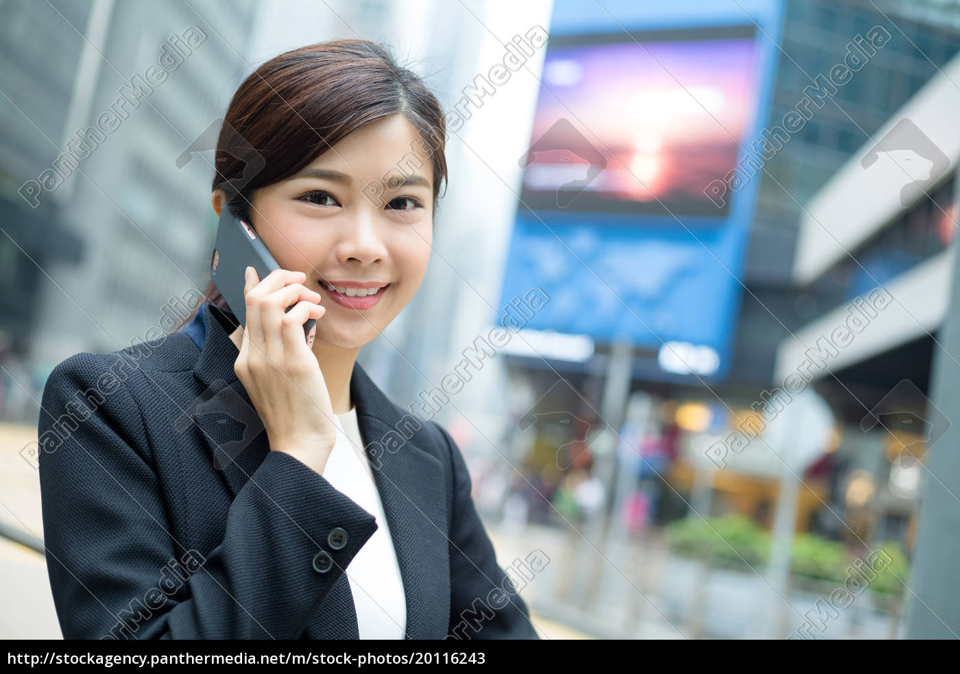 young, business, woman, talk, to, smart - 20116243