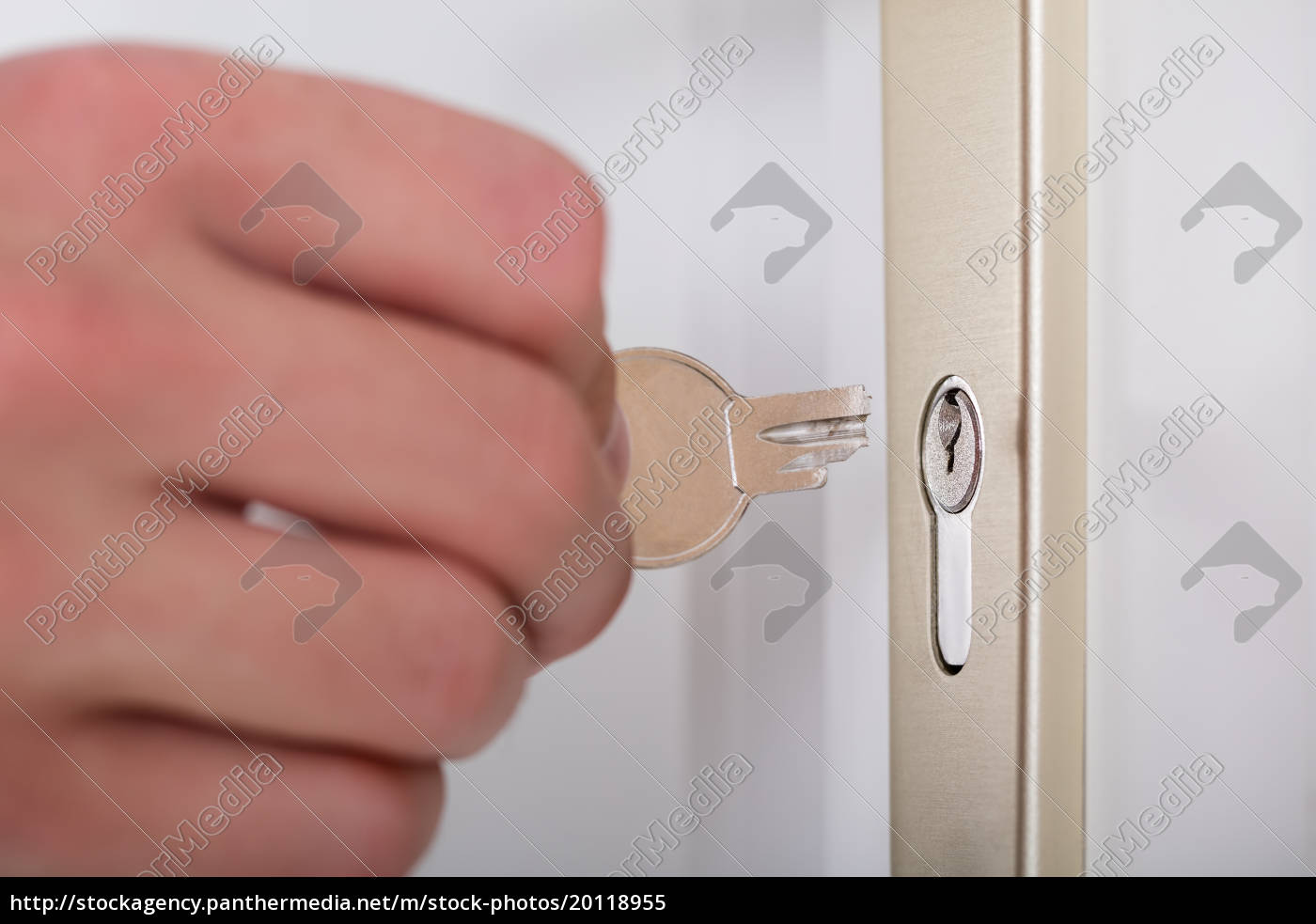 person's, hand, holding, broken, key - 20118955