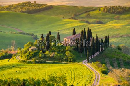 toskana panorama landschaft italien