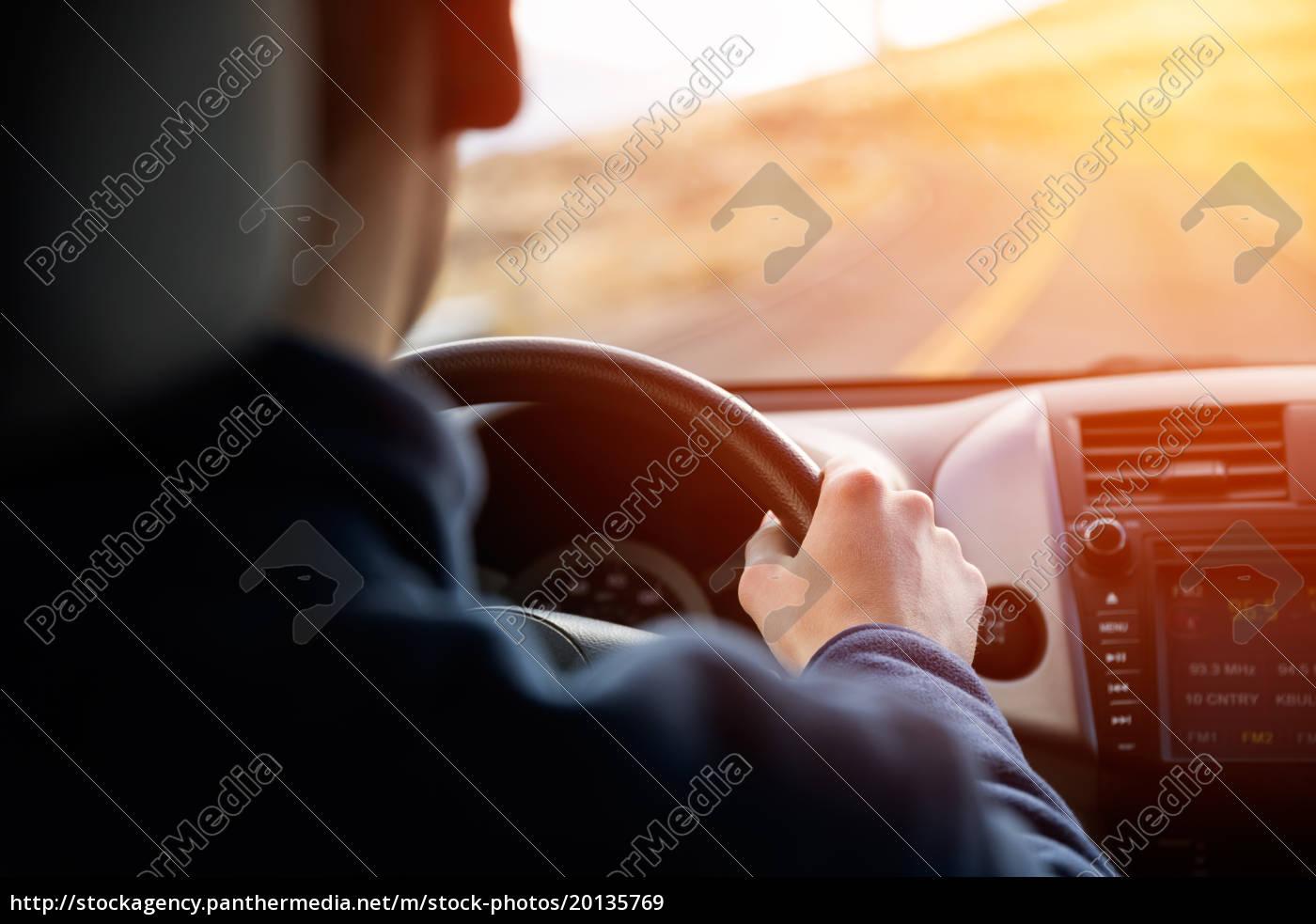 driving, car, hands, on, steering, wheel - 20135769