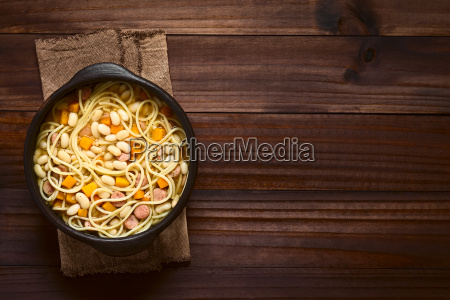 chilean, porotos, con, riendas, , beans, with - 20140727