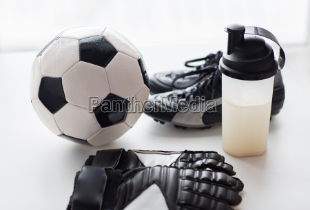 close, up, of, football, boots, , gloves - 20153619
