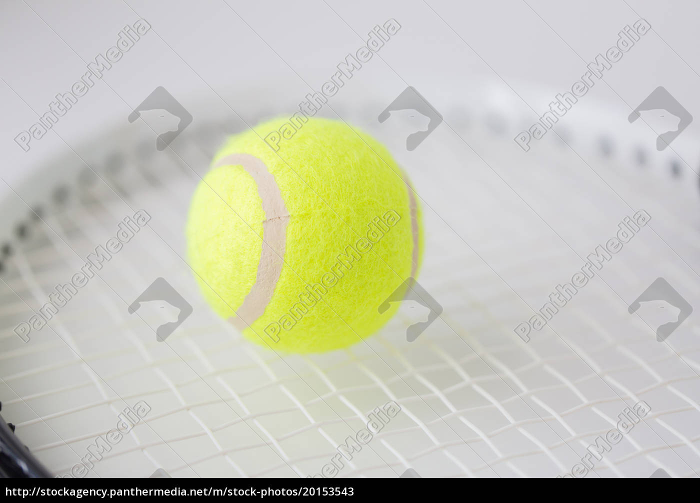 close, up, of, tennis, racket, with - 20153543