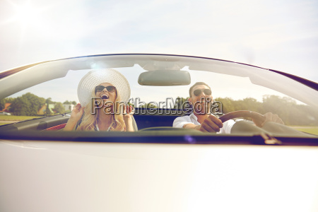 happy, man, and, woman, driving, in - 20154411