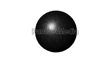 sphere isolated over a white background