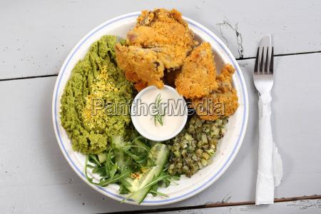 a dish of oyster mushrooms vegan