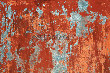 grunge red brown old painted wall
