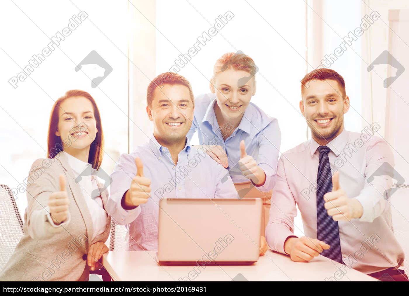 business, team, working, with, laptop, in - 20169431